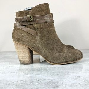 🌵BP Tan Suede Ankle Boots